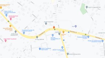 Öt autó ütközött össze Tiszafüreden, négyen megsérültek