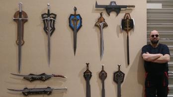 Igazi fegyvercsodák kerülnek ki Lajos kezei közül