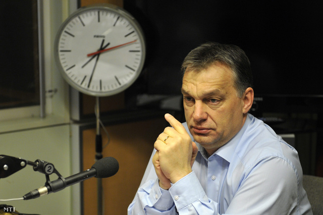 Orbán Viktor péntek reggel a Kossuth rádió műsorában