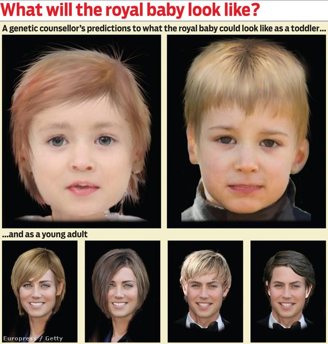 Így nézhet majd ki a hercegi baba
