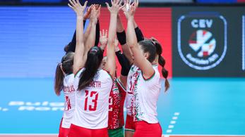 A szlovákok szenzációs legyőzésével kezdte az Eb-t a női röpiválogatott