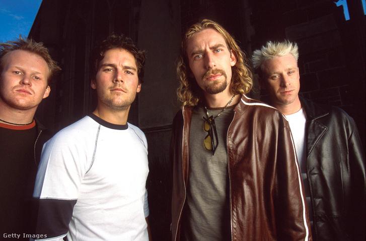 A Nickelback 2001-ben