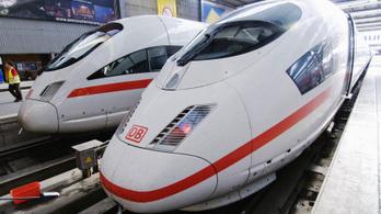 Sztrájkolnak a német vasutasok, figyelmeztet a MÁV