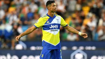 C. Ronaldo nem akart játszani, kétgólos előnyt bukott el a Juventus