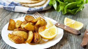 Citromos-rozmaringos sült burgonya - nyári hangulatú köret mindenféle hús mellé