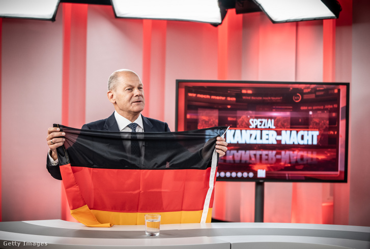 Olaf Scholz 2021. augusztus 22-én