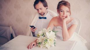 Ez a vőlegény tett róla, hogy a párja kiakadjon az esküvőjükön