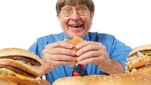 Így néz ki az a férfi, aki több mint harmincezer Big Macet evett meg 50 év alatt
