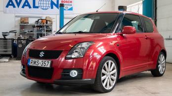 Fotelnepper: Suzuki Swift Sport – 2007.