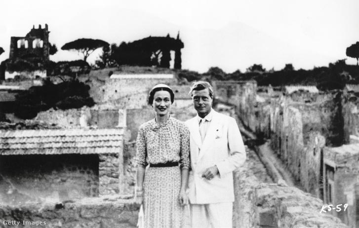 VIII. Eduárd király és Wallis Simpson mediterrán vakációjukon 1936-ban