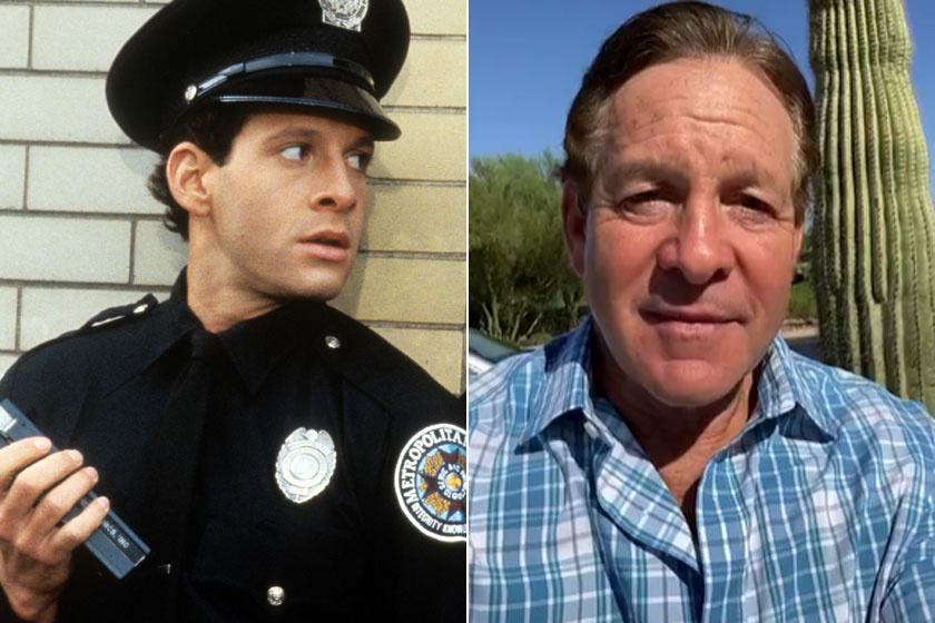 Steve Guttenberg régen és most.