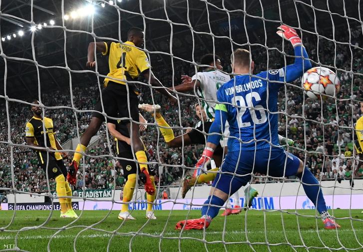 Ryan Mmaee góljával a 27. percben a Fradi ledolgozta egygólos hátrányát
