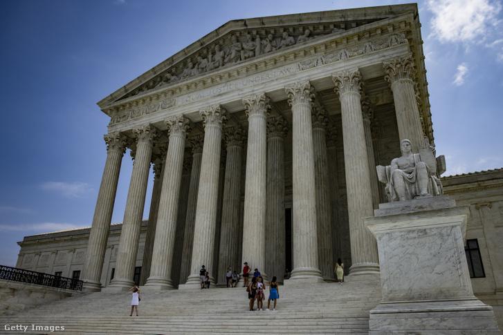 Az amerikai Legfelsőbb Bíróság épülete