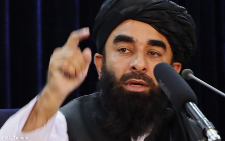 Zabíhulláh Mudzsáhid tálib szóvivő
