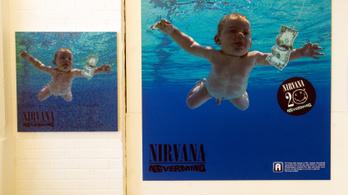 Gyerekpornográfia miatt perel a Nirvana Nevermind-albumának borítóján szereplő férfi