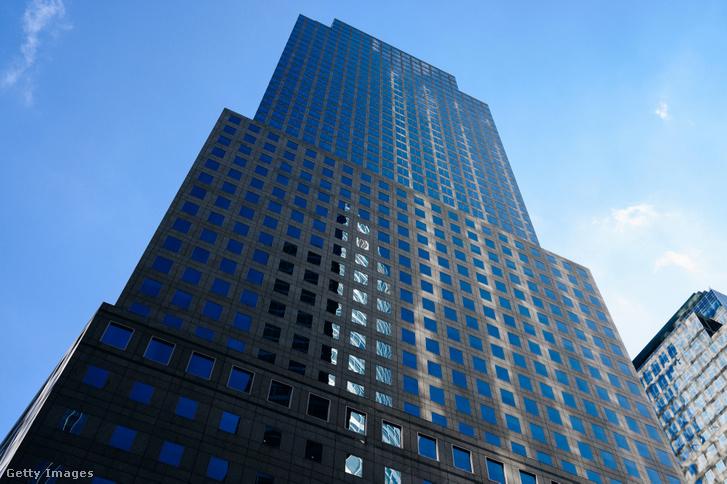 A Goldman Sachs központja New Yorkban