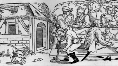 A parasztoknak csak fekete vekni jutott, a mandulatej viszont népszerű volt – így étkeztek a középkorban