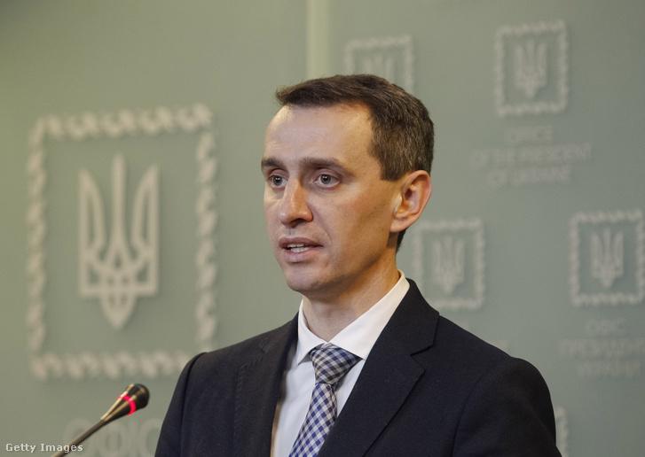 Viktor Ljasko ukrán egészségügyi miniszter