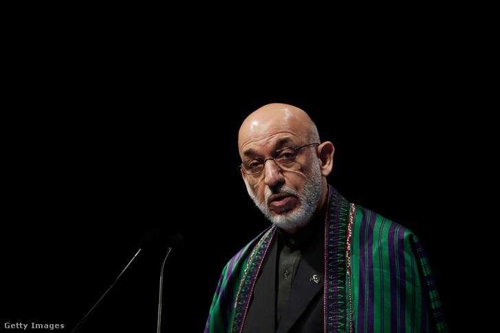 Hamid Karzai volt afgán elnök