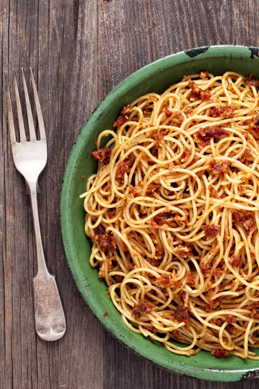 szicíliai spagetti álló