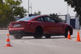 Hajmeresztőre sikerült a BMW M4 Competition jávorszarvas-tesztje