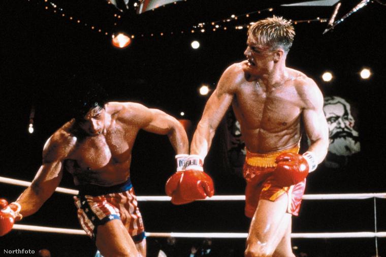 Sylvester Stallone a Rocky IV (1985) egyik harcjelenete után napokat töltött el az intenzív osztályon