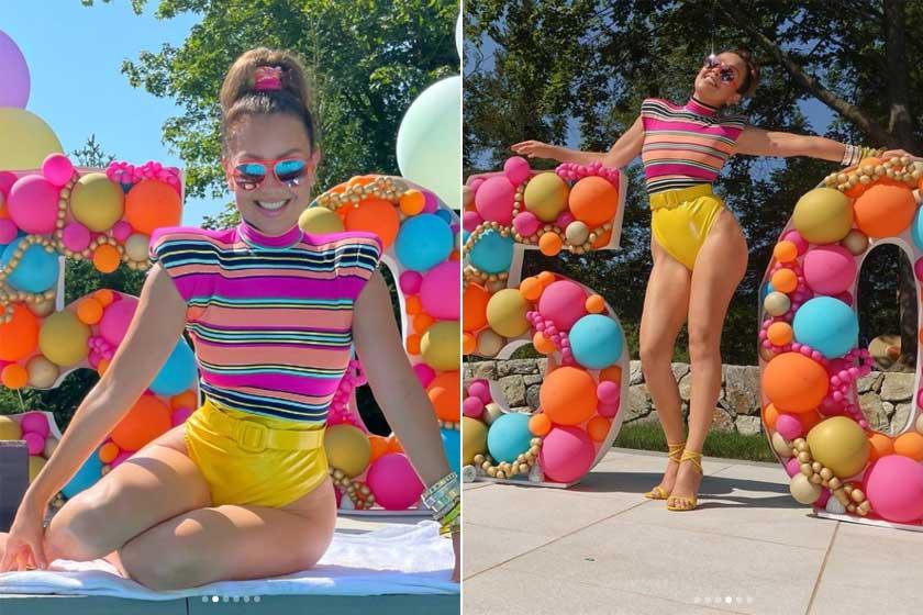 Thalía így ünnepelte kerek születésnapját csütörtökön. Dögös fotóit közel 1,5 millióan lájkolták az Instagramon.