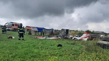 Lezuhant egy kisrepülő Szlovákiában, hárman meghaltak