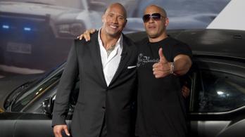 Vin Diesel halálos iramban golyózta ki Dwayne Johnsont