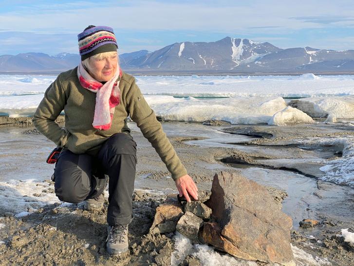 Christiane Leister, az expedíció finanszírozója