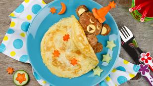 Próbáltad már ennyire furán sütni az omlettet? Ropogós sajtkéreggel a külsején sokkal finomabb