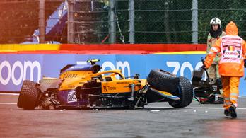 Verstappen a pole-ból, Russel az első sorból indul a Belga Nagydíjon