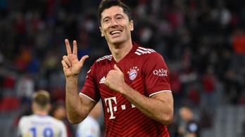 Lewandowski meglőtte a 300. gólját a Bayernben, pont nélkül utolsók Dárdaiék
