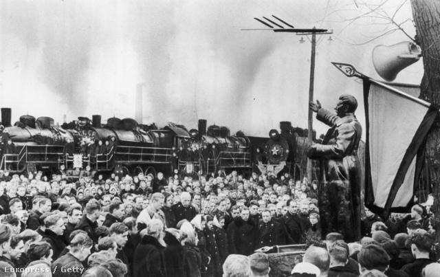1953. Egyperces néma gyász Sztálin halálhírére