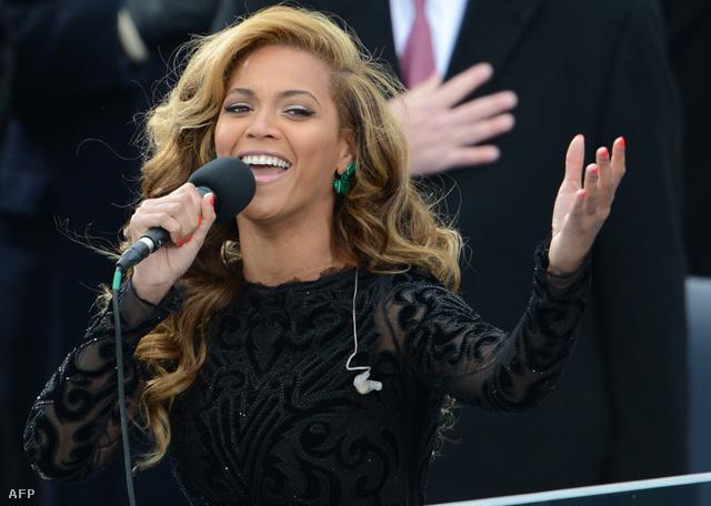 Beyoncé Barack Obama beiktatásán