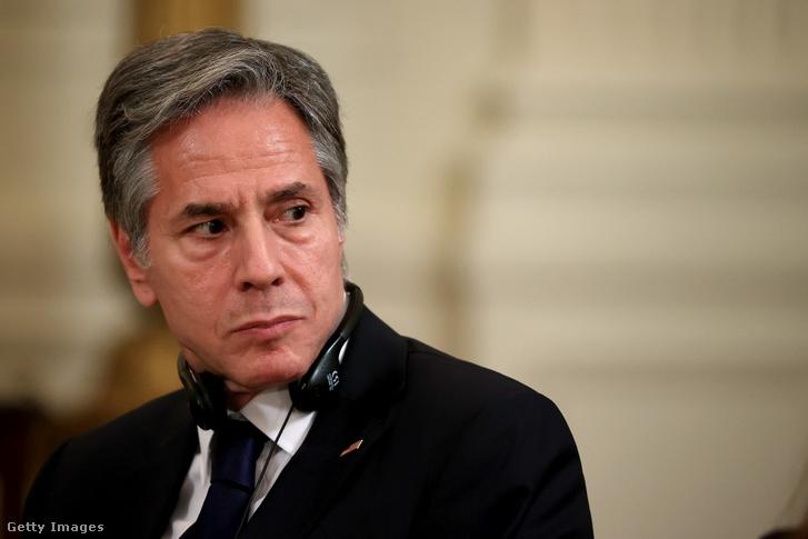 Anthony Blinken, az Egyesült Államok külügyminisztere