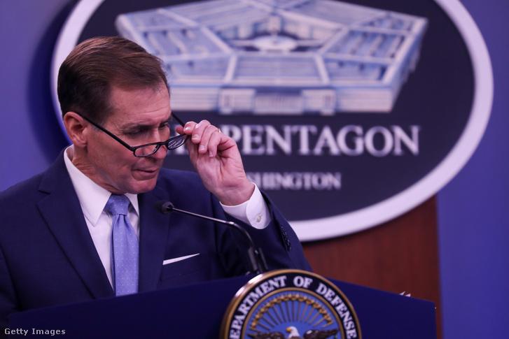 John Kirby, a Pentagon szóvivője