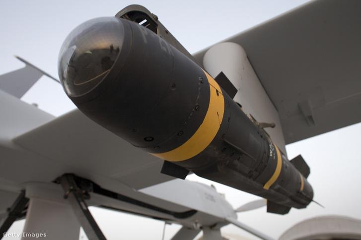 Hellfire rakéta az amerikai légierő egy Predator drónján