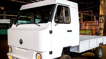 Ez a villanyos teherautó lett a kirgiz nemzeti autógyár első modellje