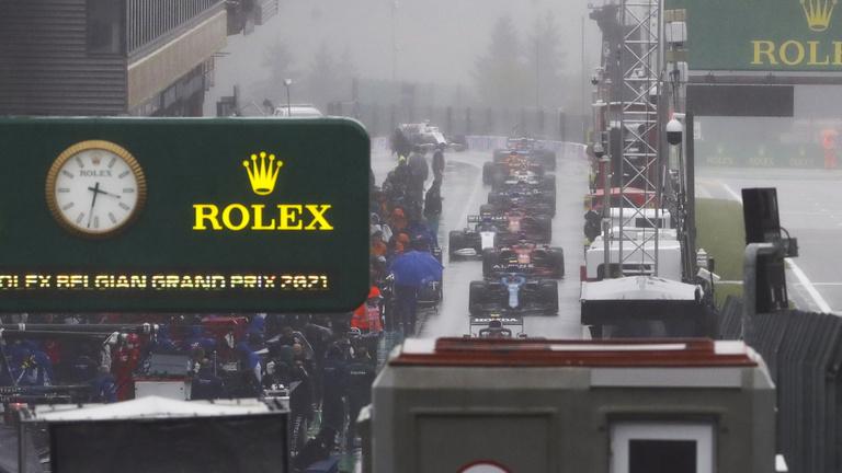 Verstappen verseny nélkül nyerte a Belga Nagydíjat