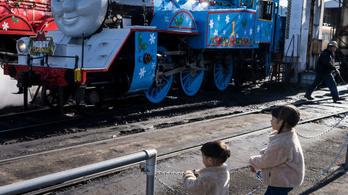 A valódi Thomas egy haszontalan gőzmozdony volt