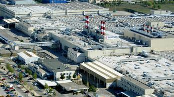 Két hétre leáll az esztergomi Suzuki gyár