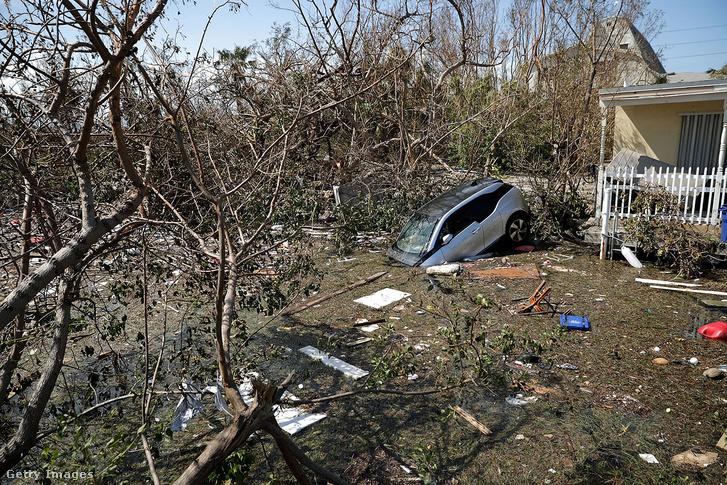 Irma hurrikán 2017. szeptember 12-én Floridában