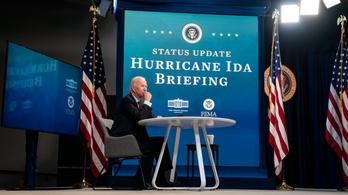 Joe Biden: Emelkedni fog az Ida áldozatainak száma