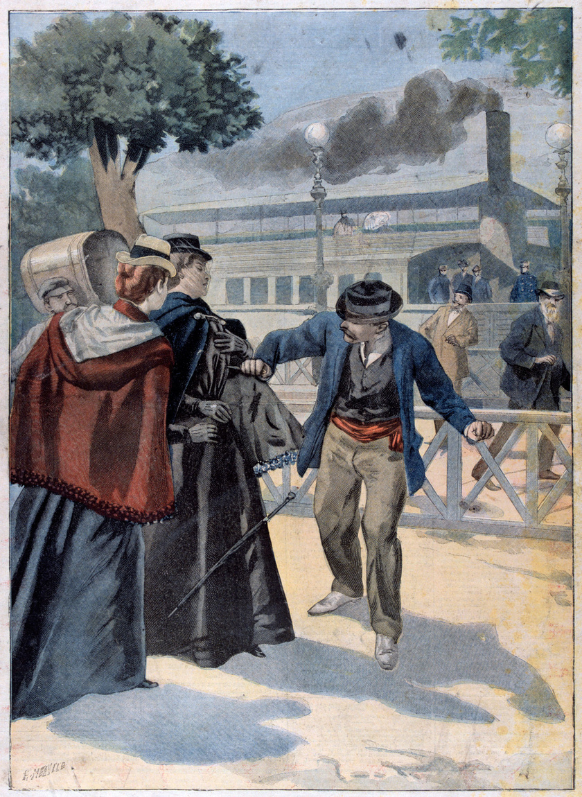 Luigi Lucheni merénylete Erzsébet királyné ellen