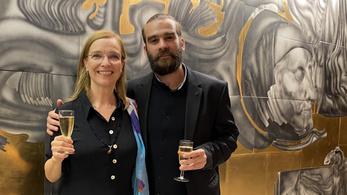 Idén a radnótis Rusznák Andrásnak adta a Kaszás Attila-díjat a szakma és a közönség