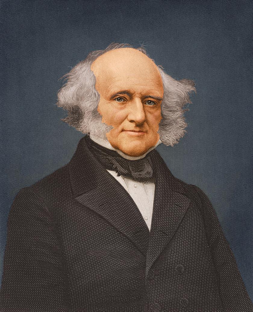 Martin von Buren demokrata politikus