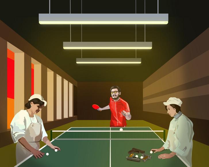Célbalövés Fidel Castro 1972-ben az aligai pártüdülő vendégszeretetét élvezte. Fanatikus pingpong játékosként még éjjel is játszani akart, kifárasztva a magyar delegáció tagjait.