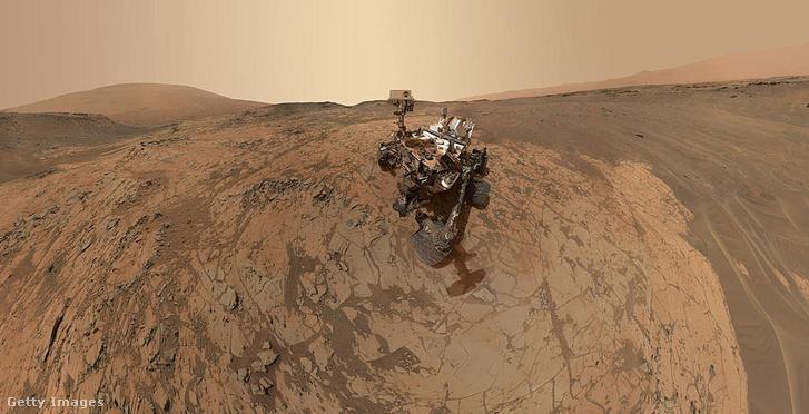 A Curiosity 1,8 millisievert kozmikus sugárzást mért útja során 2012-ben