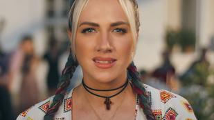 Tóth Gabi új klipjében egy teljesen új Tóth Gabit láthatunk